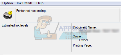 HP PRINTER IS NOT RESPONDING ON PRINTING